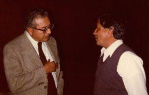 Julian Samora and Cesar Chavez, University of Notre Dame