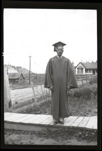 Julian Samora High School Graduation 1938 Pagosa Springs, CO